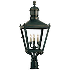 Sussex Medium Post Lantern in Bronze