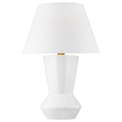 Abaco Table Lamp Arctic White Bulbs Inc