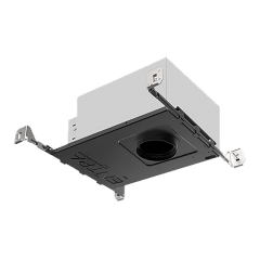 "3"" ENTRA Adjustable LED Housing Square Warm Dim 3000K-1800K 90 CRI IC Airtight"