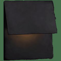 Esker Single Fold Sconce in Bronze
