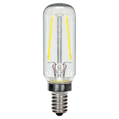 2.5W T6 Clear LED Dimmable E12 2700K 200lm 120V Candelabra Base