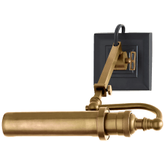 Academy Map Light in Hand-Rubbed Antique Brass