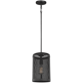 Gereon One Light Mini-Pendant Black