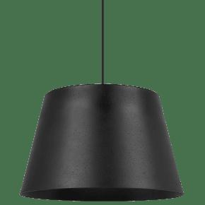 Henley Pendant Textured Black/Black no lamp