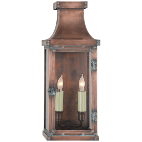 Bedford Medium 3/4 Lantern in Natural Copper