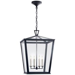 Darlana Medium Hanging Lantern in Bronze