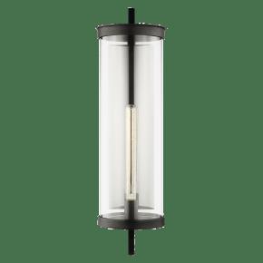 Eastham Extra Large Wall Lantern Textured Black