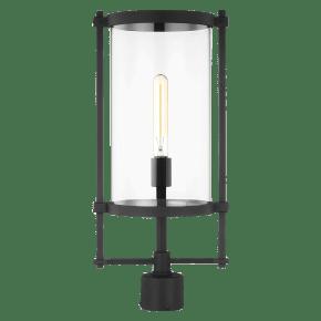 Eastham Outdoor Post Lantern Textured Black