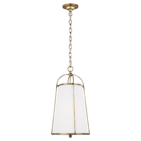 Stonington Small Hanging Shade Antique Gild