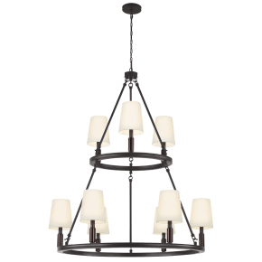 Lismore Large Chandelier Oil Rubbed Bronze