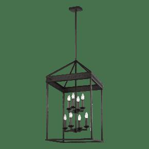 Woodruff Large Lantern Antique Bronze