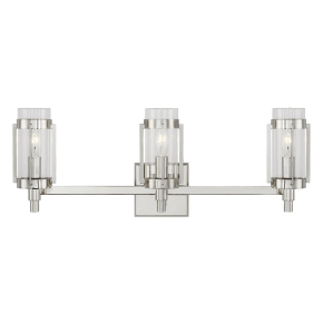 Flynn 3 - Light Vanity Polished Nickel