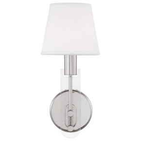 Jake Sconce Polished Nickel