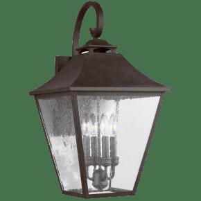 Galena Large Lantern Sable