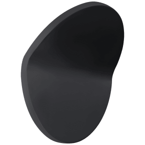 Bend Large Round Light in Matte Black