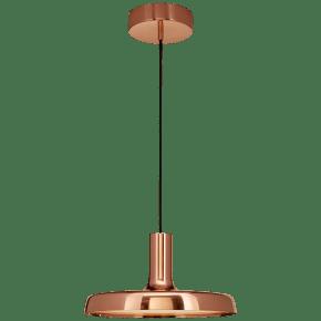 """Farmhouse Dot 13"""" Pendant in Soft Copper"""