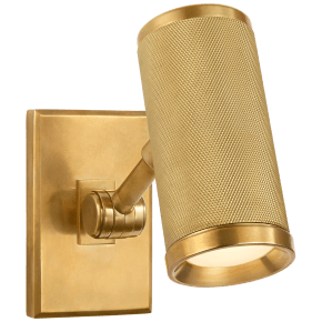 Barrett Mini Bed Light in Natural Brass