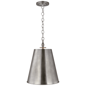 Capri Tall Pendant Antique Nickel
