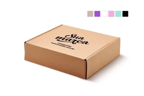 Caixa Sedex 4 - (26x24x7) Personalizada