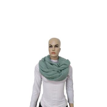 Cachecol Liso - Verde - Lã Acrílica - Mala Cadabra
