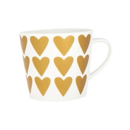 Koti Hearts in Gold Mug