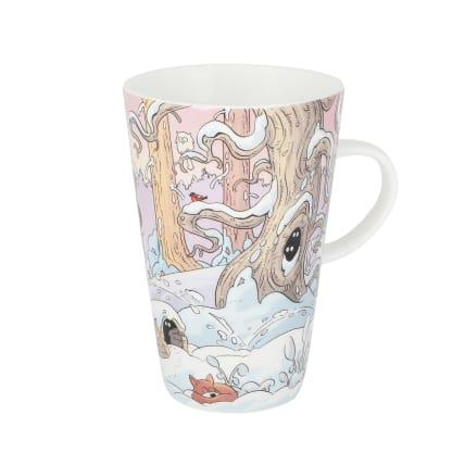 Lena Furberg Bandit Christmas Latte Mug