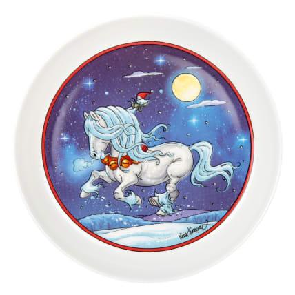 Lena Furberg Horses Plate Jingle Bell