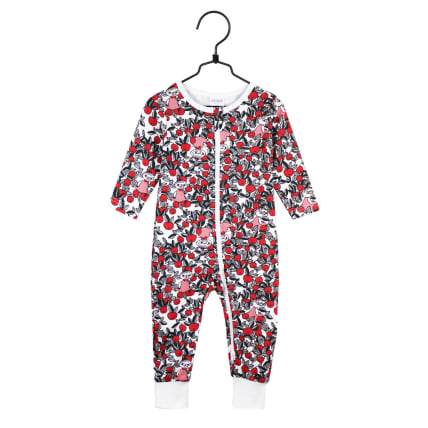 Moomin Cranberry Pyjamas off-white