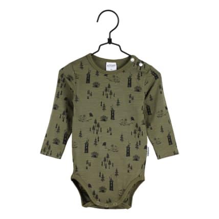 Moomin Pinewood Bodysuit olive