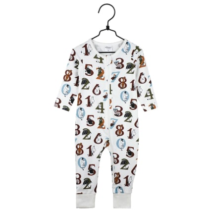 Moomin Numbers Pyjamas putty
