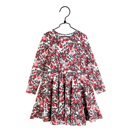Moomin Cranberry Dress off-white