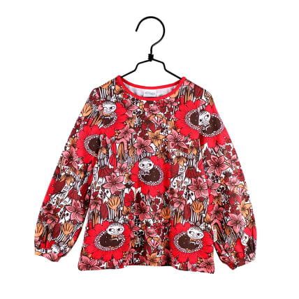 Moomin Dreaming Little My Shirt red