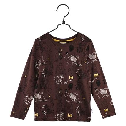 Moomin Busy Shirt brown