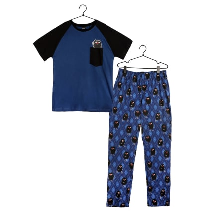 Moomin Stinkies Pyjamas Short-sleeve blue