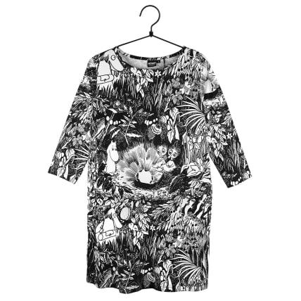 Moomin Hilda Tunic Ruby black/white