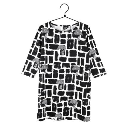 Moomin Hilda Tunic Feisty black/white
