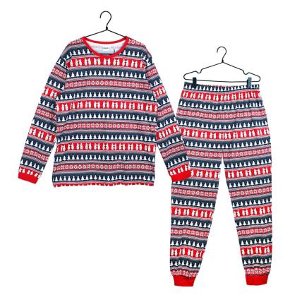 Moomin Moomin Xmas Pyjamas Men's red