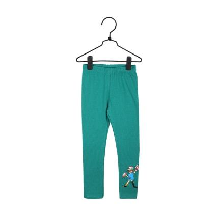 Peppi Pitkätossu Kakku-leggingsit vihreä