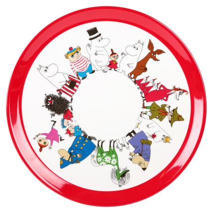 Moomin Characters Round Tray