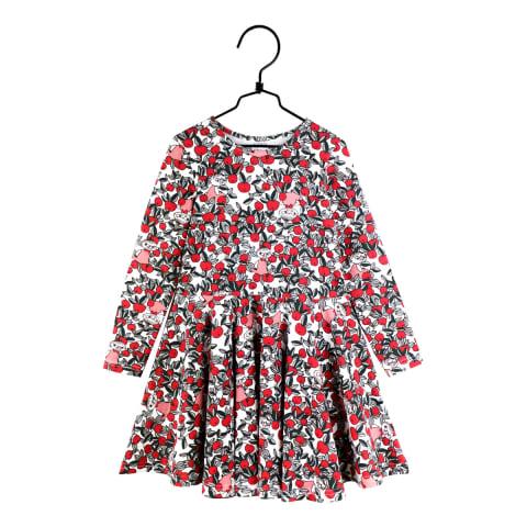 Muumi Karpalo-mekko luonnonvalkoinen