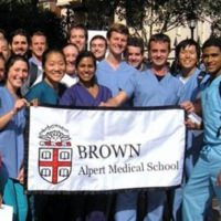 Brown med students