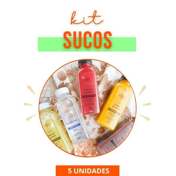 Combo de Sucos - Semanal - Vipx Gourmet