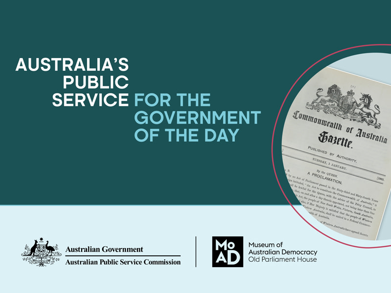 Australia's Public Service - for the government of the day