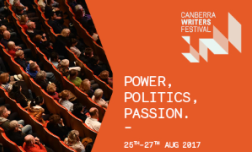 Canberra writers festival 2017