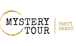 Mystery tour party games event