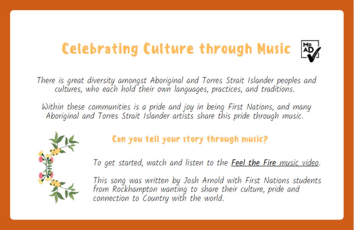 Celebrating culture through music image