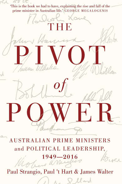 The Pivot of Power front cover