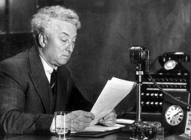 Prime Minister Joseph Lyons, 11 December 1936