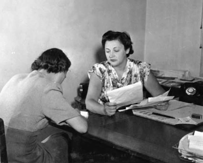 Nancy Wake. National Archives of Australia.