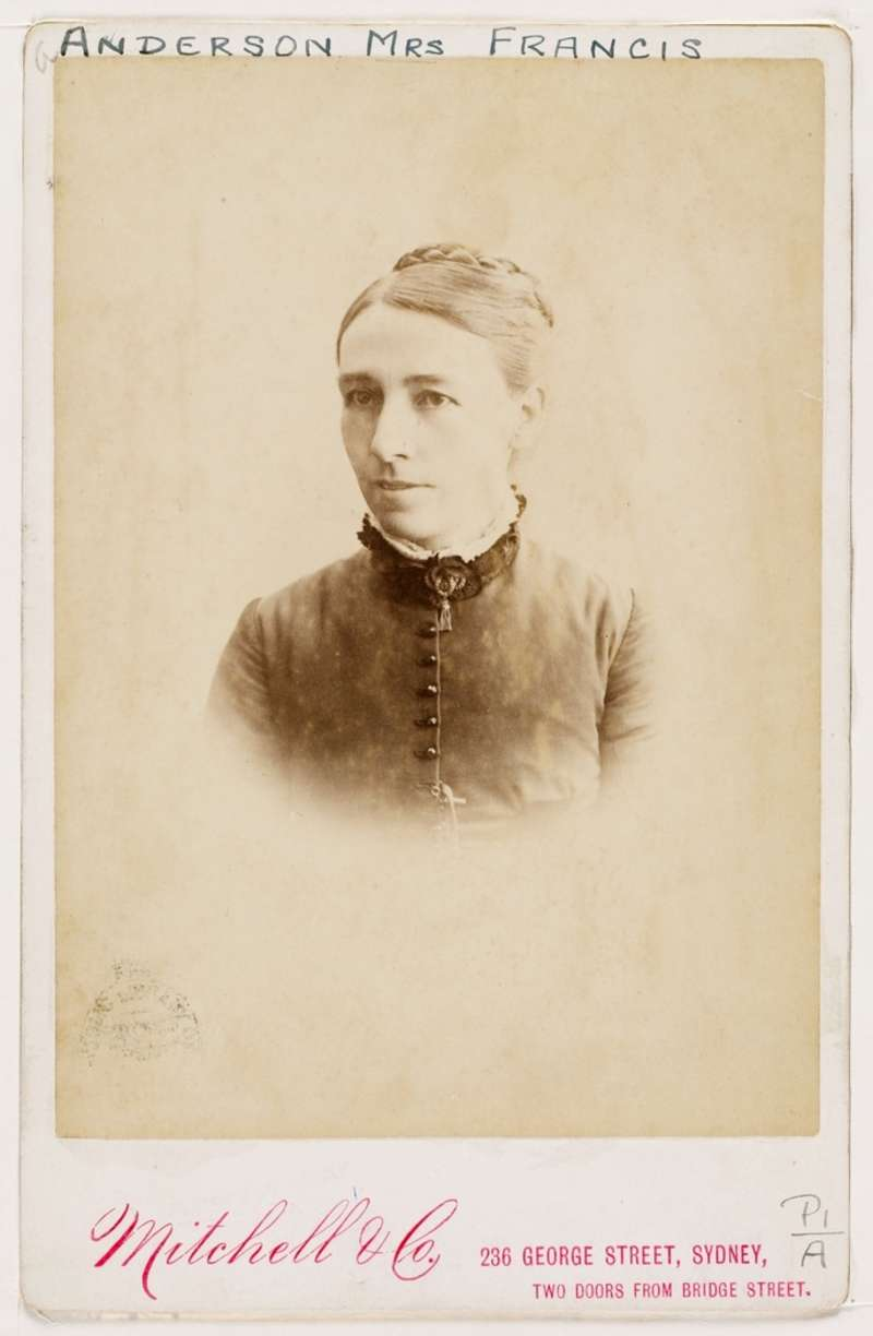 Maybanke Anderson. Mitchell Library, State Library of New South Wales.